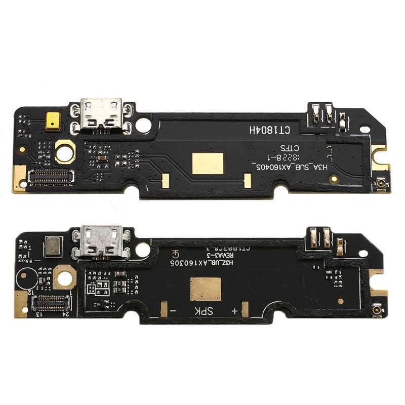 USB di Ricarica di Bordo della Porta Cavo Della Flessione Del Connettore di Ricambio Per Xiaomi Redmi Nota 3/4/Note 3/4 Pro/ 4A/5A/4X/2 2A/3S Microfono Modulo