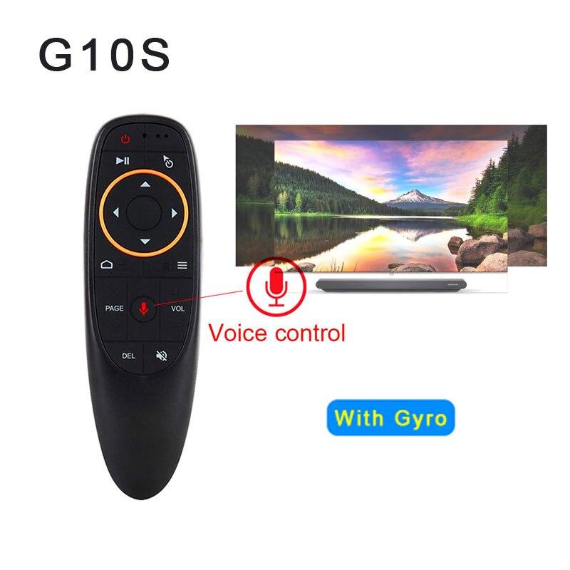 Verantwortlich G10 Air Maus Voice Control 2,4 Ghz Wireless Mit Gyro Sensing Spiel Voice Control Smart Fernbedienung Für Android Tv Box Heimelektronik Zubehör Fernbedienungen