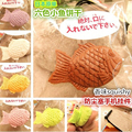 New 6 Colors Japan Original Fish Biscuit Squishy Strap Charm With Tag