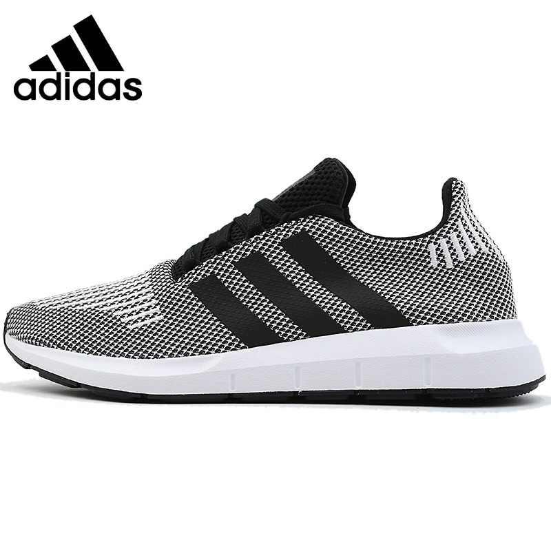 cc344319 Оригинальные аутентичные 2018 Adidas Originals Swift Run для мужчин удобные  кроссовки дышащая одежда спортивная обувь хорошее