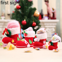 Christmas gift box chocolate candy shoes boots jewelry decoration package New Year packaging bag