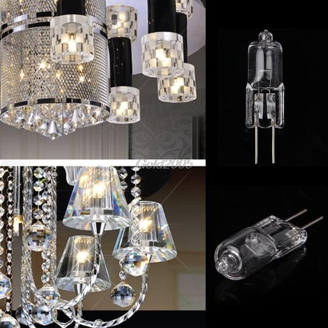 G4 Jc Type Halogen Light Bulb Transpa Lamp 12v 20w Warm White G07 Drop Ship