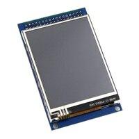 Бесплатная доставка 2,8 дюймов TFT сенсорный ЖК-экран модуль для arduino UNO R3 высокое качество
