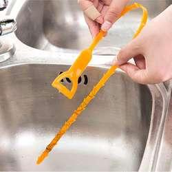 Проволочный очиститель для труб забивания Remover Проволочный очиститель для труб, 6 упак. к. змея волос забивания инструмент, дюймов 20 дюймов