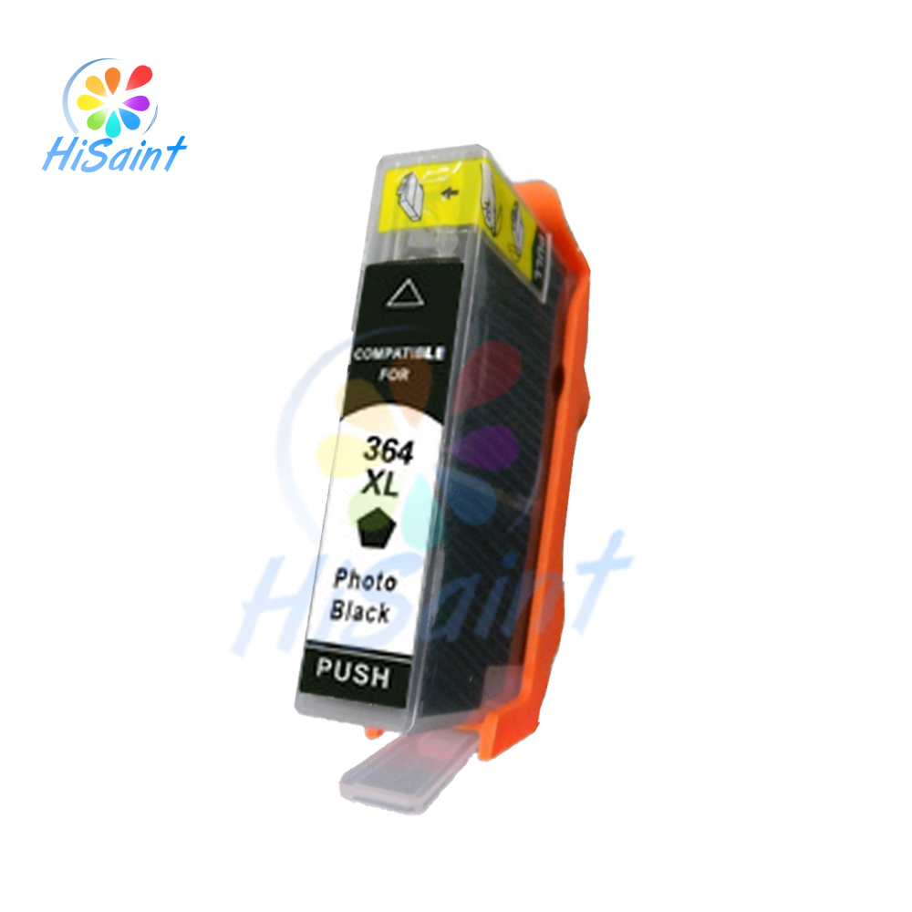 hot 1pcs photo black ink cartridge for hp 364 364xl for hp photosmart 7510 b8550 c5324 c5380. Black Bedroom Furniture Sets. Home Design Ideas
