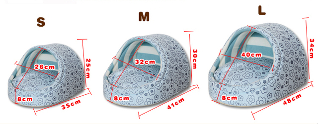 New Cute Slipper Design Pet Cat Dog Princess Bed Nest Washable Small Dogs Warm House Kennel Dog Bed 8 Colors Free shipping 5