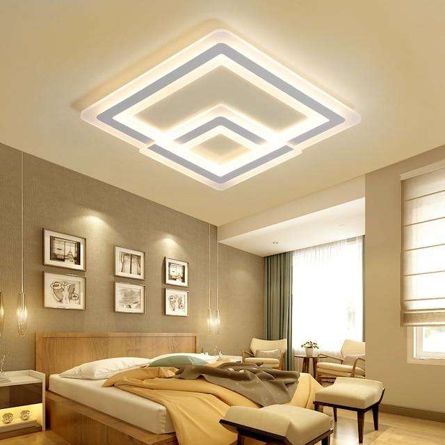 Led plafonnier Chambre lampe chaud romantique de mode creative ...