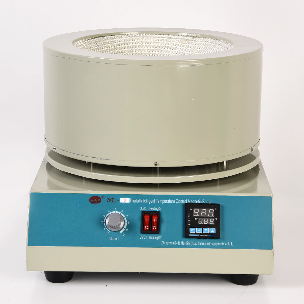 10L Magnetic Stirrer Electric Heating mantle for Short-range Distillation Equipment with Intelligent Magnetic Stirring magnetic stirring electric heating sleeve hj 6a intelligent 2000ml