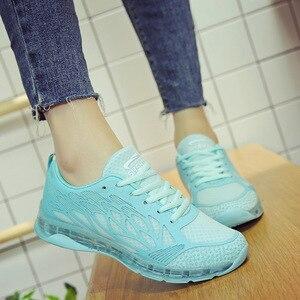 Image 4 - SWYIVY Tıknaz rahat ayakkabılar Kadın Ayakkabı kadın ayakkabısı 2019 Yeni Sonbahar Örgü Beyaz Sneakers Kadın Ayakkabı Sığ Bayanlar Ayakkabı