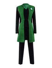 The Orville Dr. Claire Finn Green Uniform chief medical officer Cosplay Costume