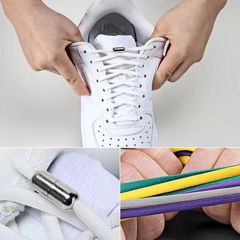 Tie shoelace Elastic Locking ,Shoelaces 8