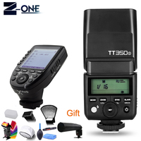 Godox TT350S TT350 GN36 2.4G TTL HSS Mini Flash Speedlite + XPro S Flash Transmitter Trigger Kit for Sony Mirrorless Camera