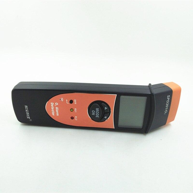 SPD201 Digital Oxygen meter oxygen detector O2 meter gas analyzer Gas Detector alarm O2 Monitor Gas Tester Oxygen Concentration meter 0~25% 3