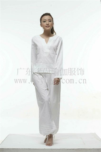 284372a8e10c2 India YOGA Yoga meditation instructor clothes clothing cotton Chinese ink  style yoga clothes suit Y570 fans still
