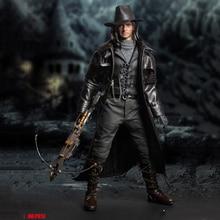 P013 1/6 Full Set Monster Hunter Ruthless Killer Van Helsing Hugh Jackman Figure Model for Fans Colelction Gifts