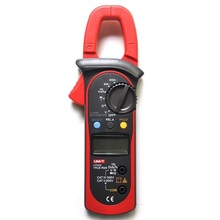 UNI-T UT204 True RMS Auto Range Digital Clamp Meters AC/DC Voltage Current Resistance Frequency Multimeter uni t digital multimeter ut890c ut890d true rms ac dc voltage current resistance capacitance frequency response 6000 count test