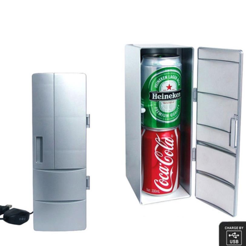 Mini Usb Fridge Cooler Heater Cool Refrigerator Dual Use Home Dormitory DC 5Vcar Office Refrigerator Computer Wine Cooler
