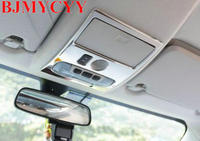 BJMYCYY Stainless Steel Decoration Frame For Car Reading Lamp For Ford Ecosport 2013 2018