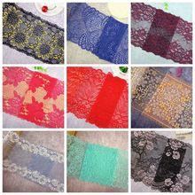 119 различные стили расширяются эластичные кружева цветок нейлон кружева планки одежды швейная ткань аксессуары для одежды tissu dentelle