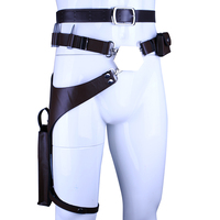 New Mens Halloween Party Costume Updated vision Han Solo Belt with Gun Holster Movie Star Wars Cosplay Props