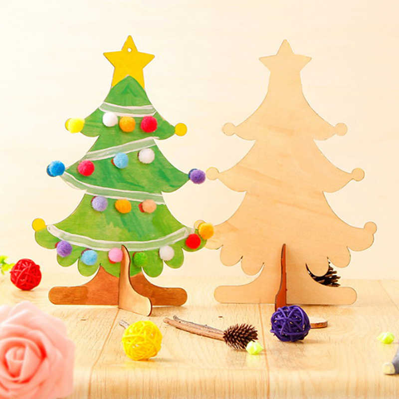 Detail Feedback Questions About Diy Christmas Wooden Creative