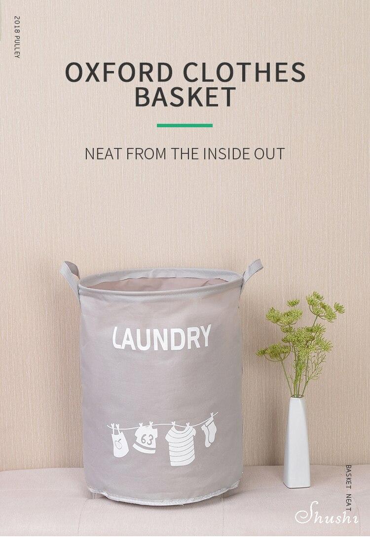 Oxford laundry basket (1)