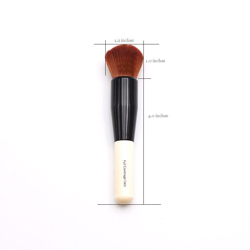 Tesoura de Maquiagem pincel de pó Material da Escova : Cabelo Sintético