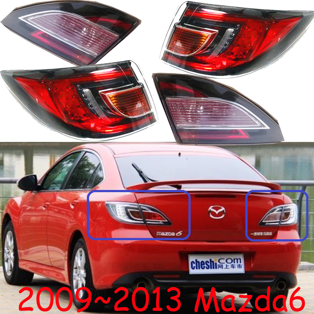 Sedan car use,Mazd6 taillight,LED,2009~2013year,Free ship!Tribute,RX 7,RX 8,Protege,Miata,CX 3,CX 5,Navajo,Mazd6 rear lamp
