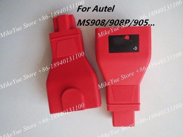 Dla Autel dla HONDA 3 szpilki MaxiSys Pro MS906 MS906BT MS906TS MS908S Pro Mini MaxiCOM MK908P OBD I adaptery DLC złącze