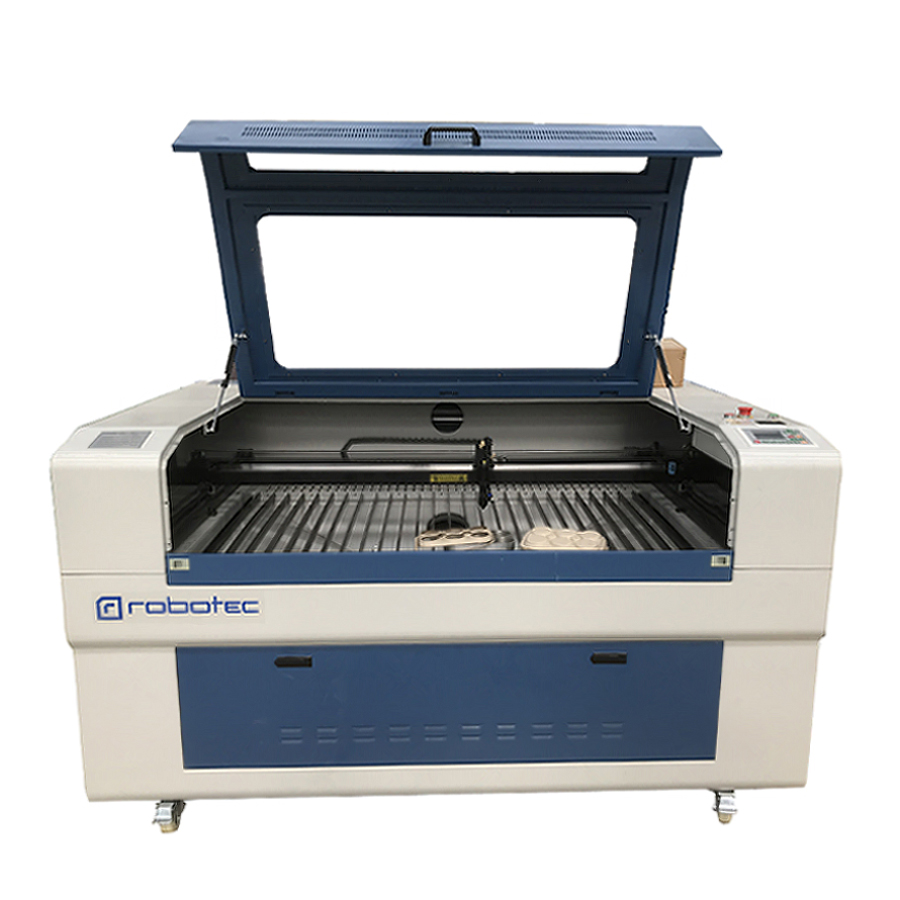1390 1490 Co2 Laser Cutting Machine Automatic Up-down Table And Honeycomb Cnc Laser Cutter