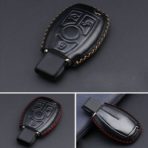 """Image 5 - """"Auto zubehör schlüssel abdeckung fall araba aksesuar für Mercedes Benz W204 W205 W212 C S E Klasse Schlüsselanhänger Halter zubehör"""
