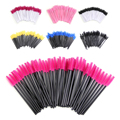 50Pcs Professional Makeup Disposable Eyelash Brush Mascara Wands Applicator Spoolers Eye Lashes Cosmetic Brushes Makeup Tool