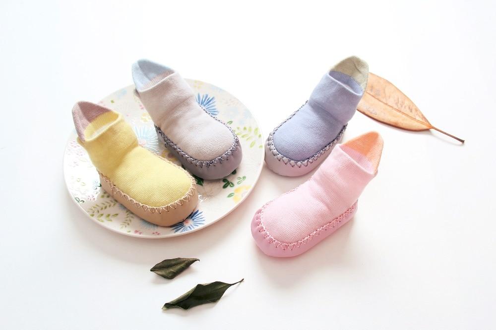 2017 Autumn Toddler Baby Shoes Socks Children Infant Cartoon Cotton Socks Baby Gift Kids ...