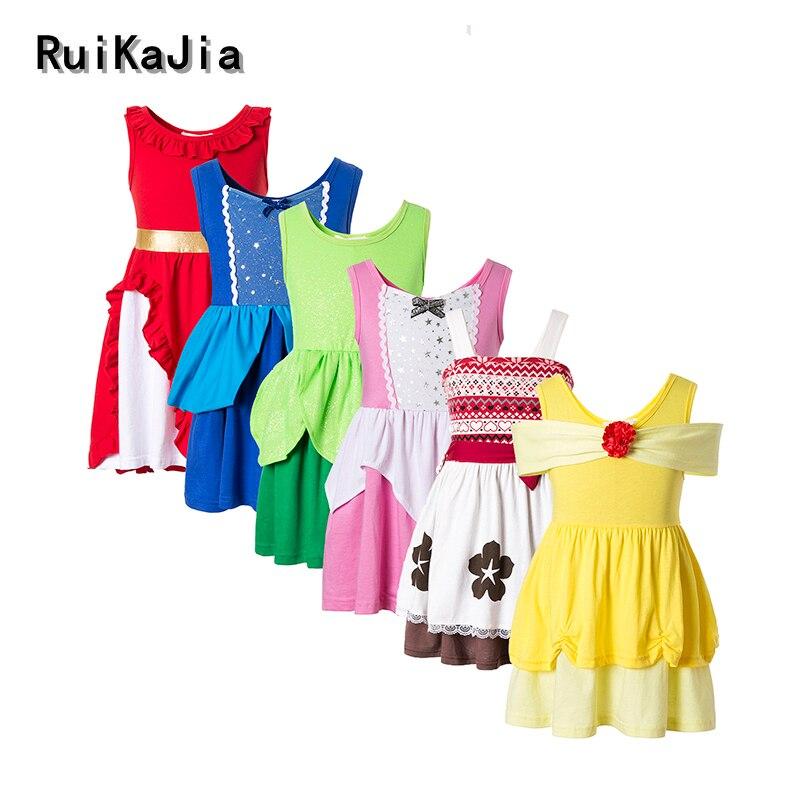 Girls' Dresses moana dress dresses flower trolls kids girls dresses summer 2017 kids dresses for girls winter dress vaiana dress