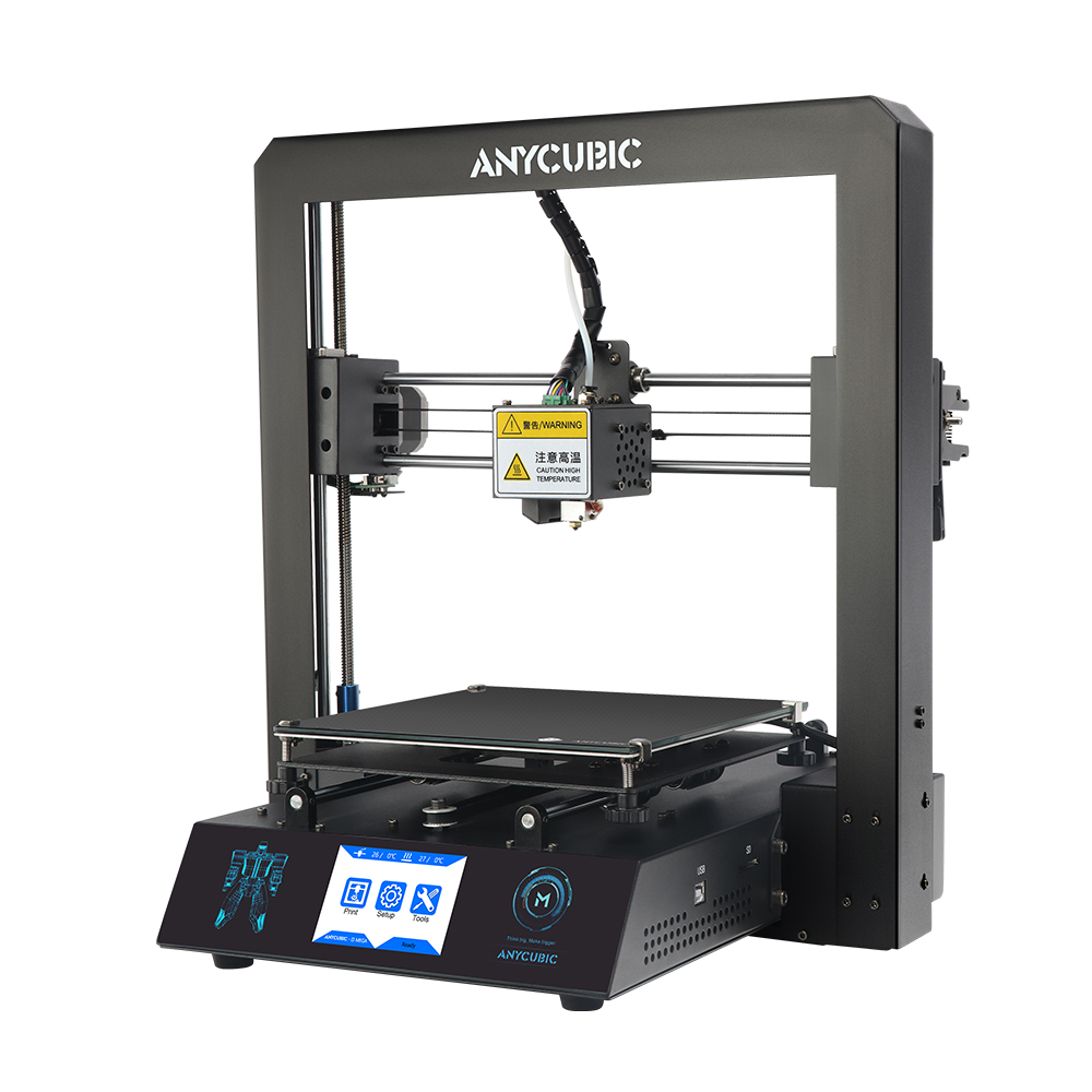 Image 4 - Free Shipping ANYCUBIC I3 Mega 3D Printer Kit Large Printing Plus Size Full Metal Frame 3D Drucker Impresora-in 3D Printers from Computer & Office