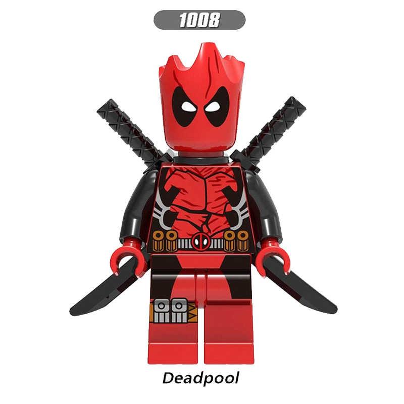 Super Heroes action Figures Building Blocks Visione Iron Man Falcon Wong Bucky Winter Soldier Regalo Giocattoli Per Bambini regali XH946