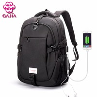 GAJIA New Hot Sale Canvas Men S Backpack Bag Brand 14 1Inch Laptop Notebook Mochila For