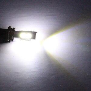 Image 5 - 100 sztuk T10 Canbus 10SMD 5630 5730 wolne od błędów Auto LED lampy W5W wewnętrzne Canbus światła