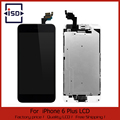 10Pcs/lot White&black For iphone 6 Plus 5.5 LCD Display Touch Screen digitizer+Home button+Front camera Assembly Free Shipping