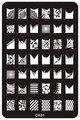1 шт. * (14.5x9.5 см) Моды DIY Для Ногтей Красоты Nail Art Image Stamp Штамповка Плиты 3D Nail Art Шаблоны Трафаретов Маникюр Инструменты