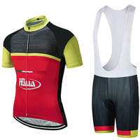 Cycling jersey UCI 2018 Italia team men's short sleeve cycling sets ropa ciclismo Italy SUMMER bicycle bike clothing bib shorts
