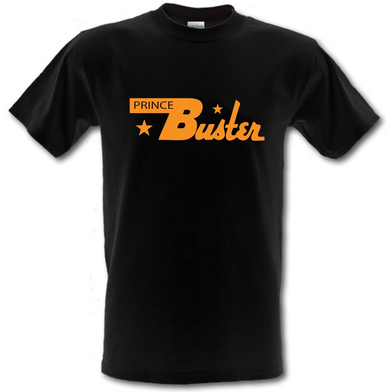 PRINCE BUSTER Ska Legend Logo Rocksteady Jamaica Heavy Cotton T shirt ALL SIZES