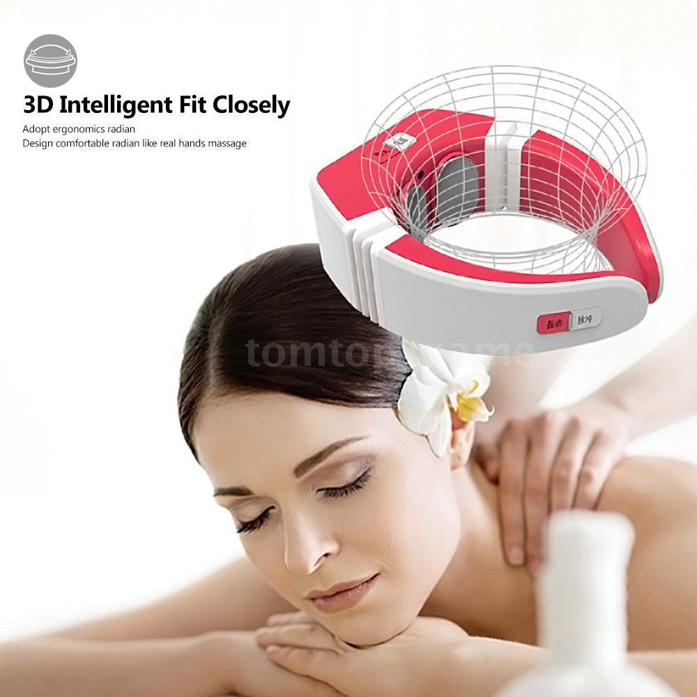 USB charge MKS Electric Neck Heated SPA Massager Wireless Control Neck Care massages Far-infrared Vibration Electrical ImpulseUSB charge MKS Electric Neck Heated SPA Massager Wireless Control Neck Care massages Far-infrared Vibration Electrical Impulse