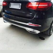 ABS Chrome Rear Bar Trim For Mercedes-Benz GLC 2015 Car Exterior Decoration Accessories