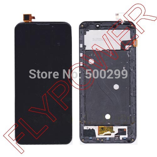 6.44 UMI C1 LCD Display Digitizer + touch Screen and frame For UMI Cross Vinus C1 Screen by free shipping