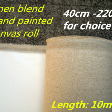 400 г горячая Распродажа, художественная льняная смесь холста в рулонах с широким выбором 40 см-220 см