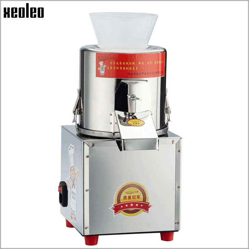 Xeoleo Vegetable Chopped machine 60kg/h Vegetable Shredding Machine 180W Meat Grinder garlic/shallot/ginger Grinding machine