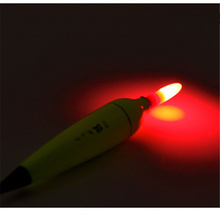 1Pcs Luminous Fishing Float Boia Foam Type Led Fishing Light Stick Bobber Buoy Electronic Glowing Night Fishing Floats