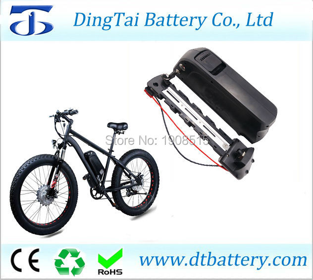 Fat tire bike/ electric bike/mountain bike battery 48V 14Ah Lithium ion down battery pack with 5V USB output+charger high power li ion battery pack 48 volt electric bike battery 48v 15ah lithium ion battery pack18650 batterie with charger
