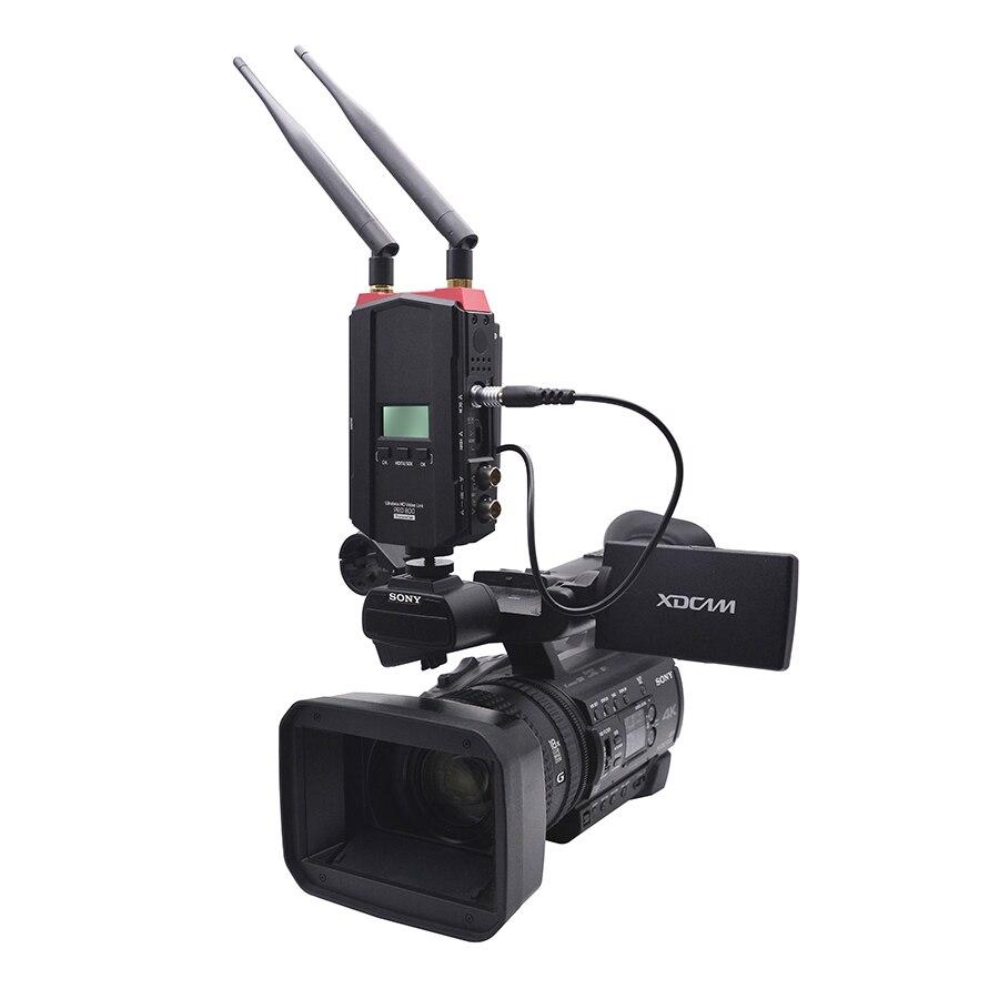 PRO800 Беспроводной высокой четкости 2624ft 800 м аудио/видео Камера HD передатчик и приемник системы для RONINS Ak2000 Ak4000 Crane2